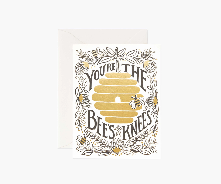 Rifle Paper Co: You're the Bee's Knees- Single Card