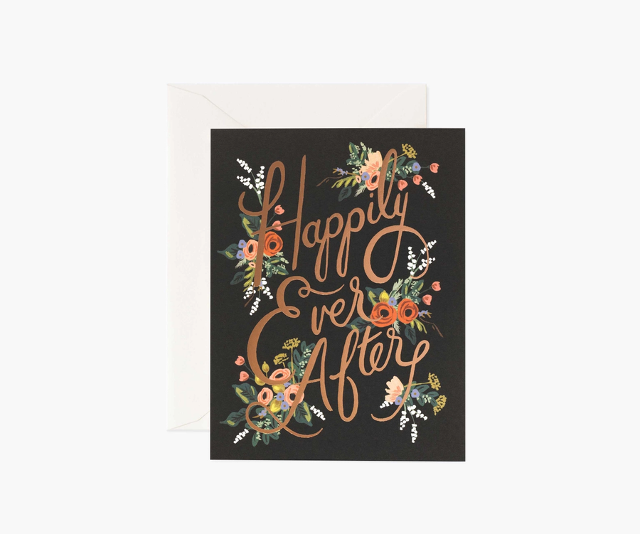 Rifle Paper Co: Eternal Happily Ever After- Single Card