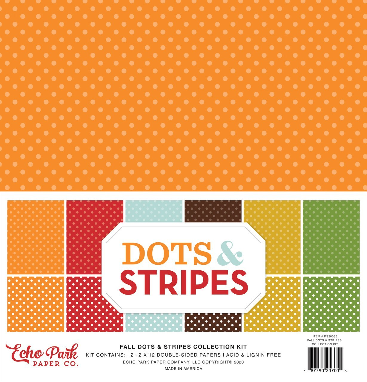 Fall Dots & Stripes