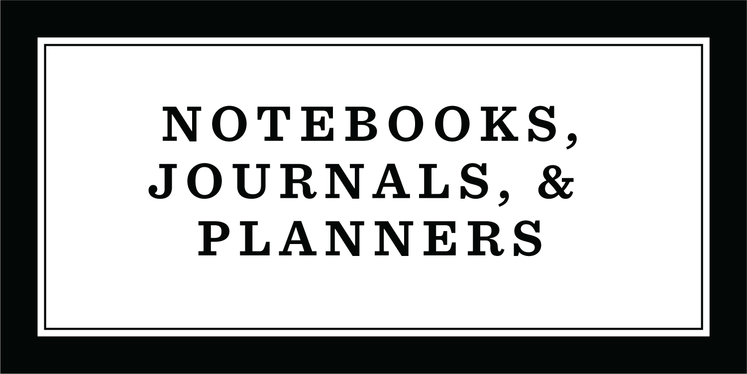 Notebooks, Journals, Planners