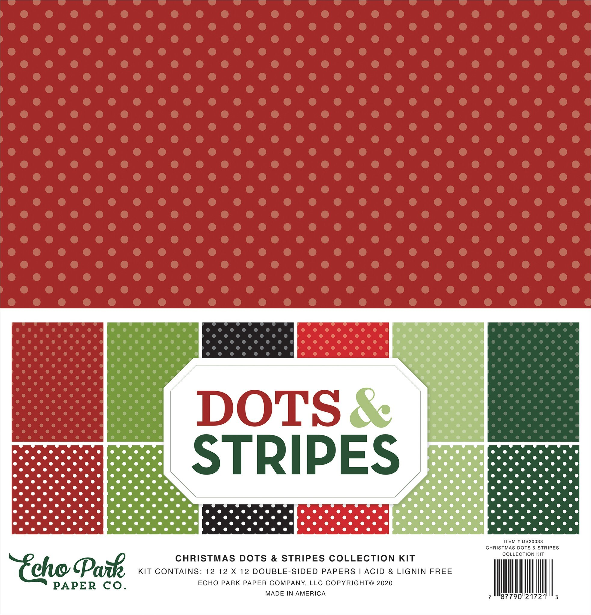 Christmas Dots & Stripes