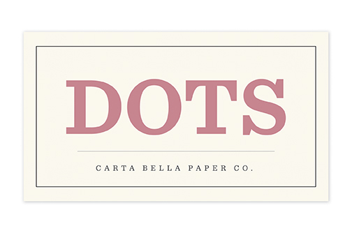 Carta Bella Dots
