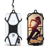 Phone Lanyard w/Cage Holder