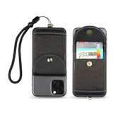 Stick-On Phone Wallet w/Wristlet