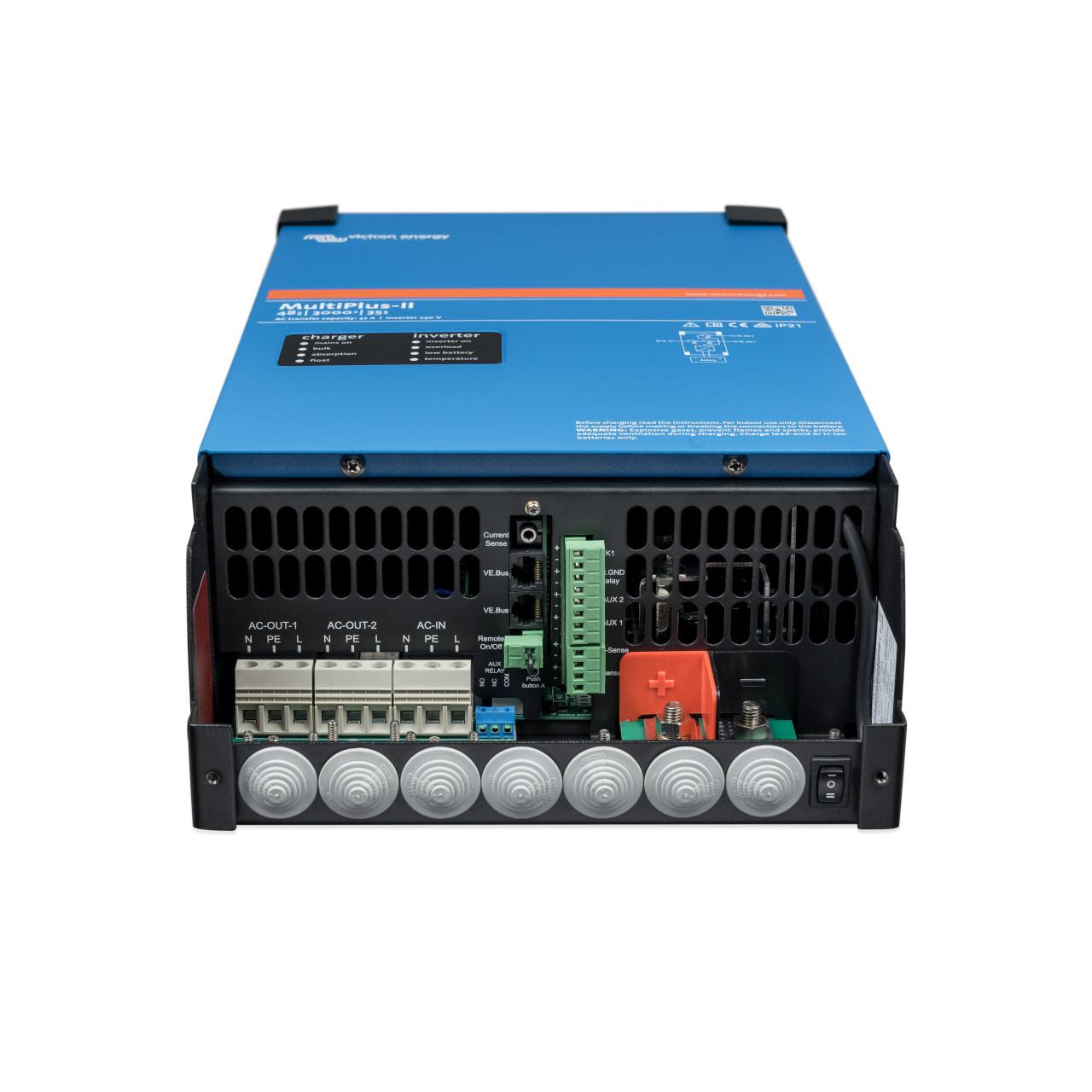 Victron Energy - MultiPlus-II 48/3000/35-50 - Connectors