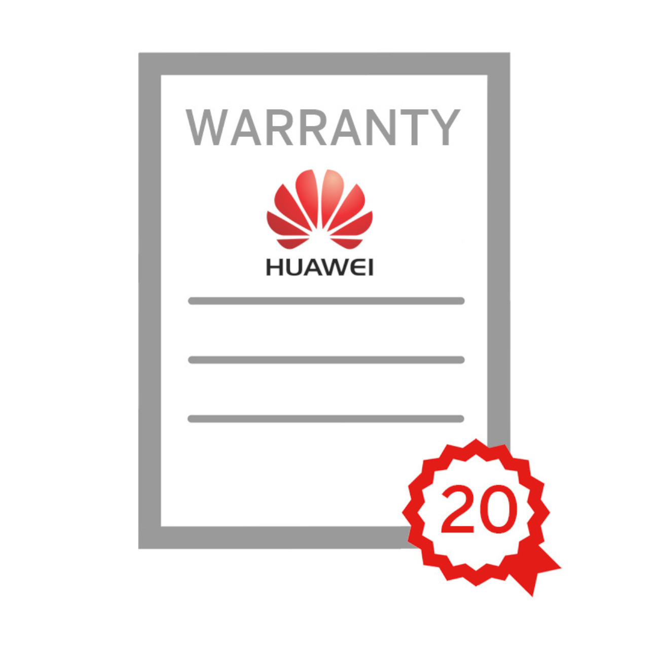 Huawei - 5KTL Warranty Extension to 20yrs