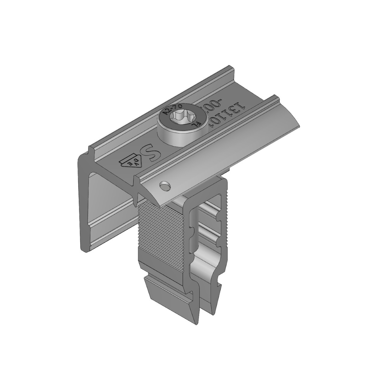 Schletter - Rapid16 End Clamp - 45