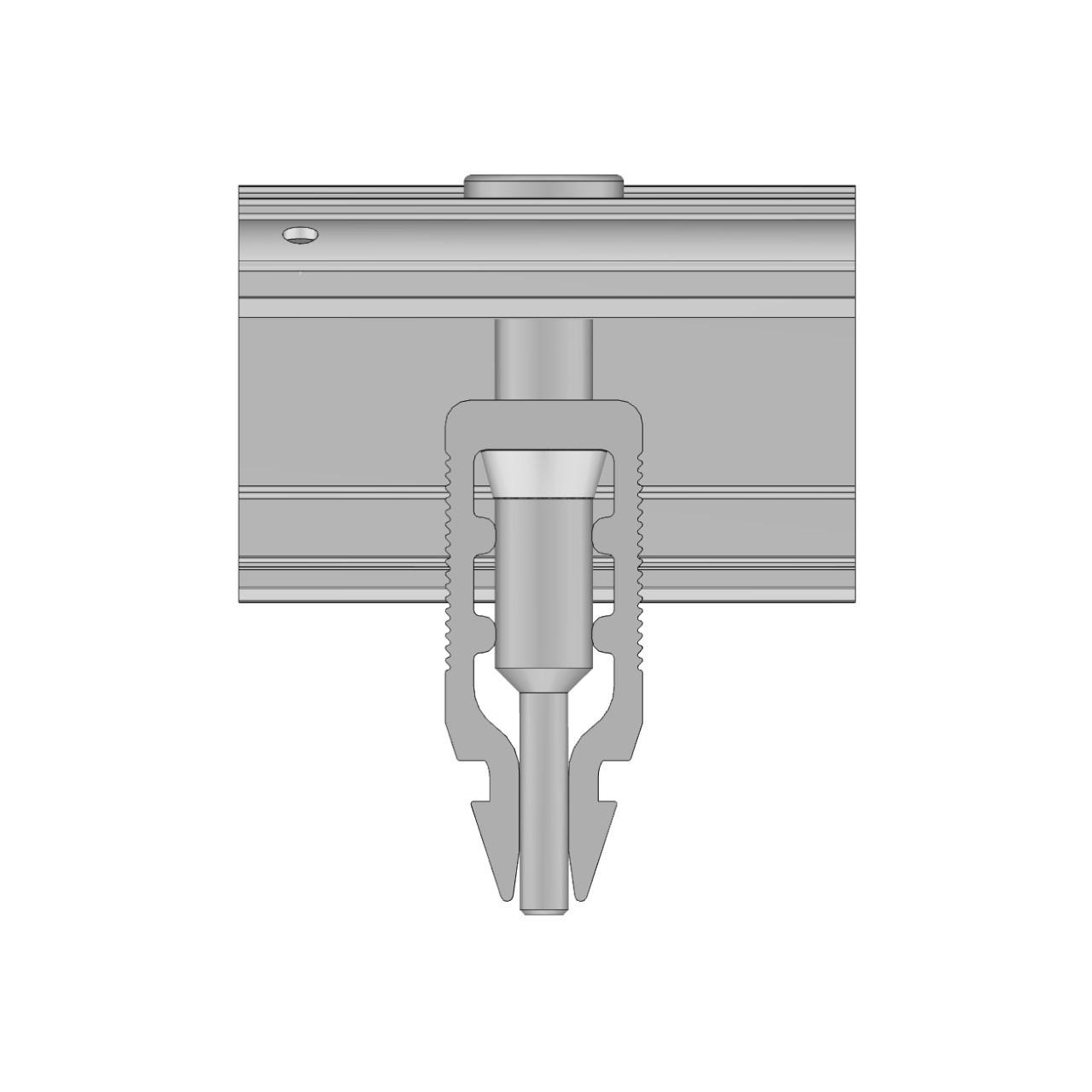 Schletter - Rapid16 End Clamp - Side