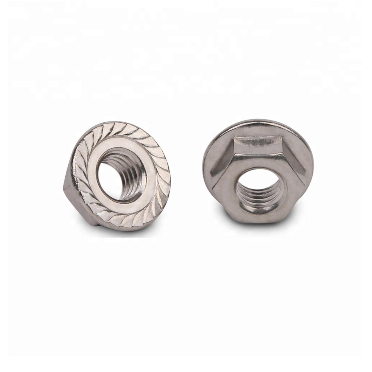 Schletter - Flange nut M10 serrated DIN6923
