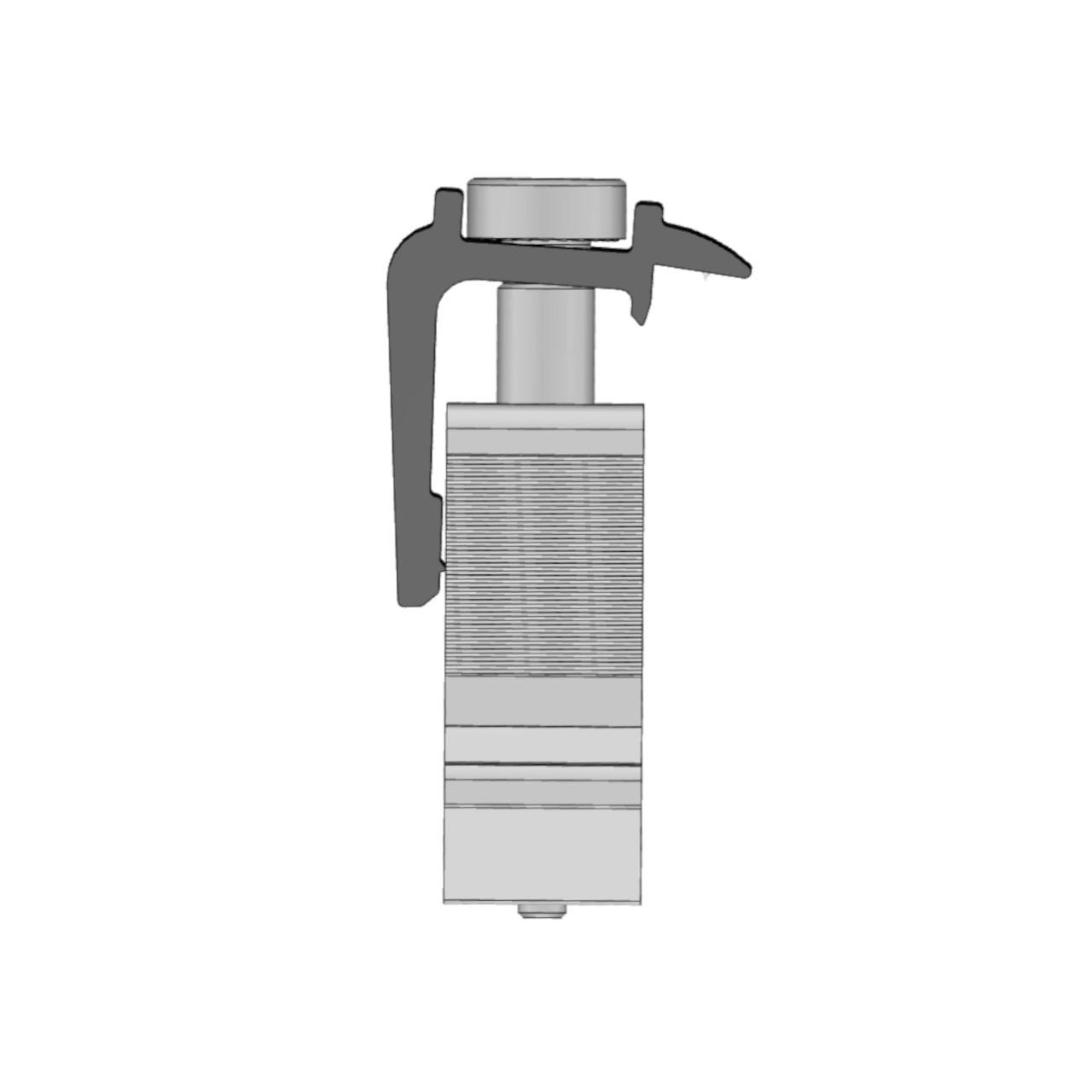 Schletter - Rapid16 End Clamp - Profile
