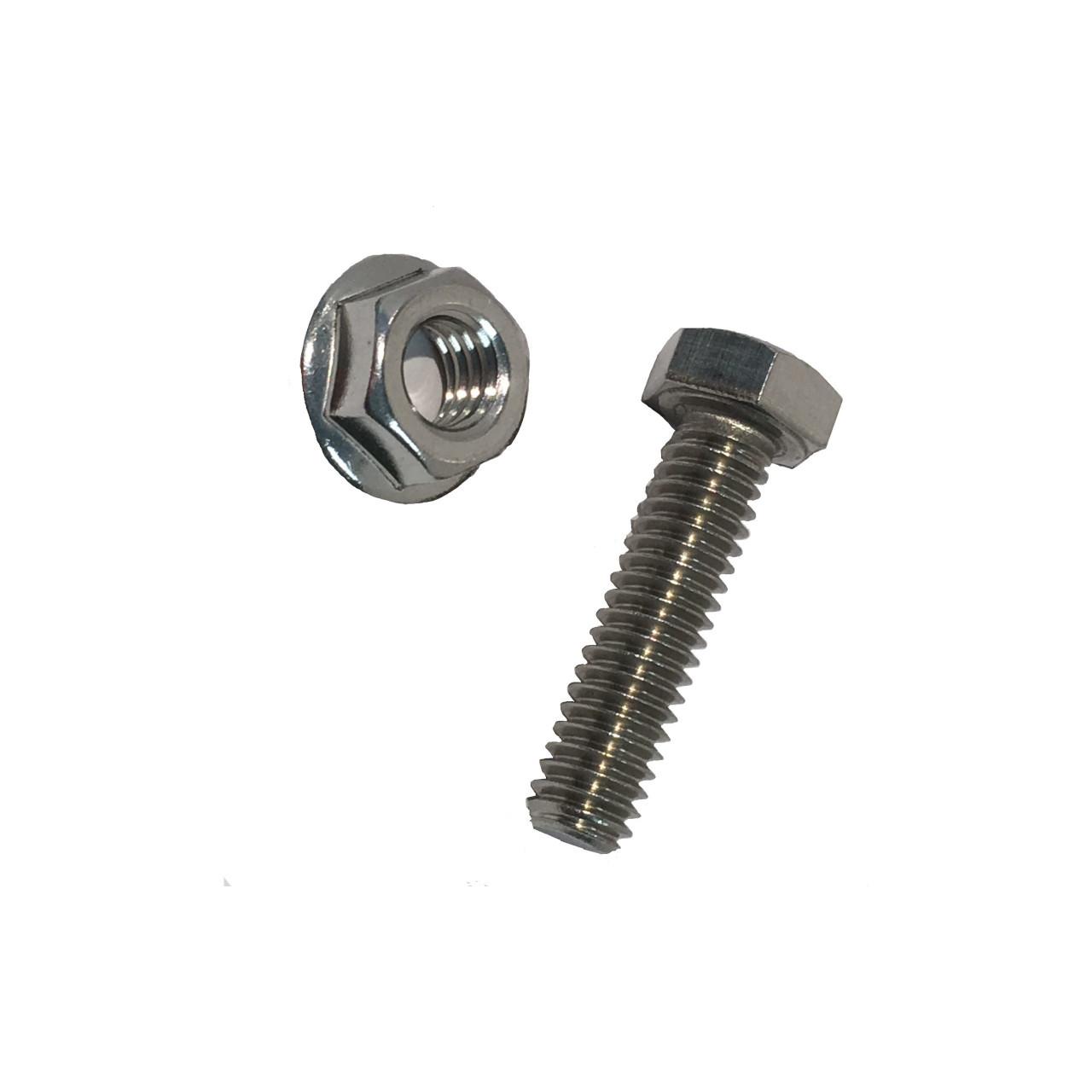 Roof-Tech - 5/16 Hex bolt & Flange nut
