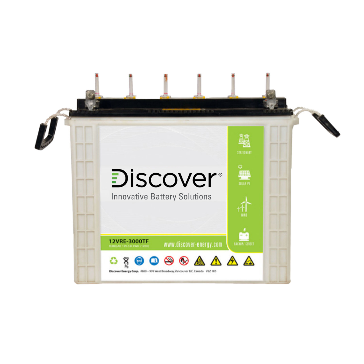 Discover Energy - SOPzS 12VRE-3000TF-L - Front