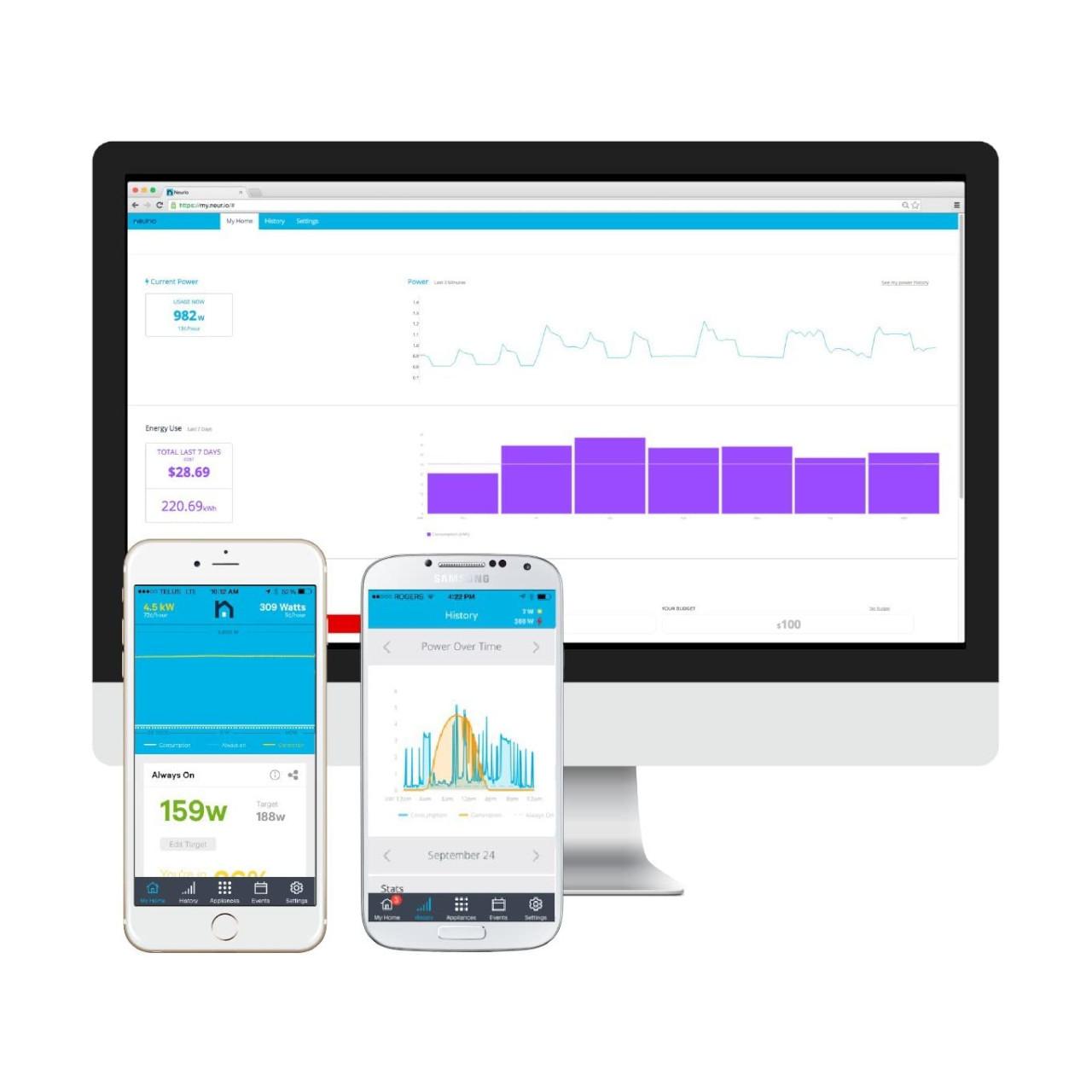 Neurio - W1-HEM Home Energy Monitor App