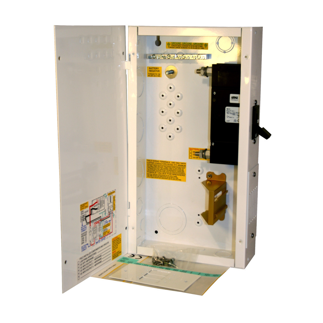 MidNite  Solar - MNDC125 DC Disconnect, Breaker Box