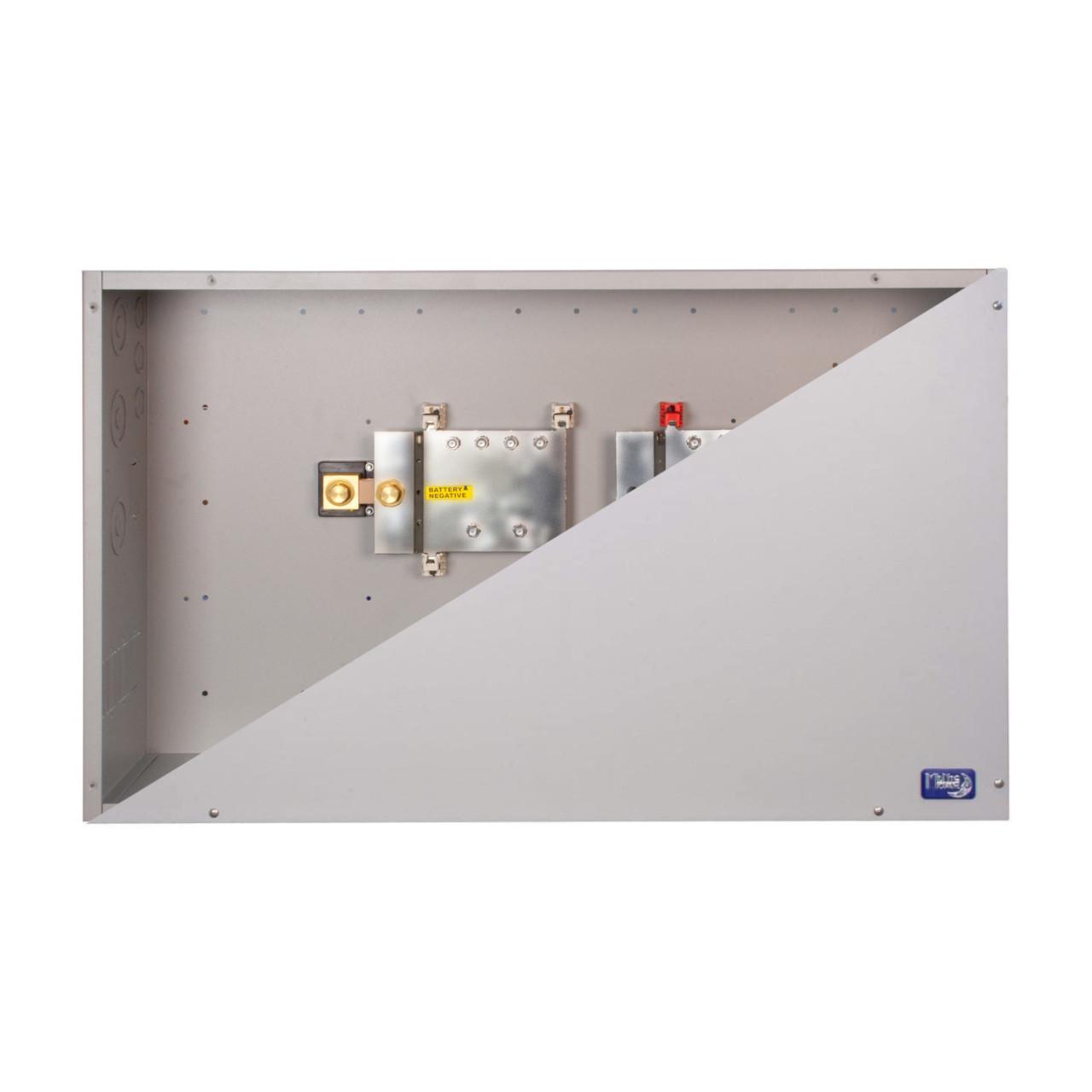 MidNite Solar - MNBCB 1000/50 DC Distribution Cabinet - Open/Closed