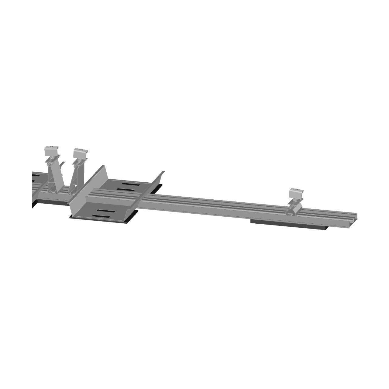 FixGrid5 - East-West - Front  Rear Support Ballast