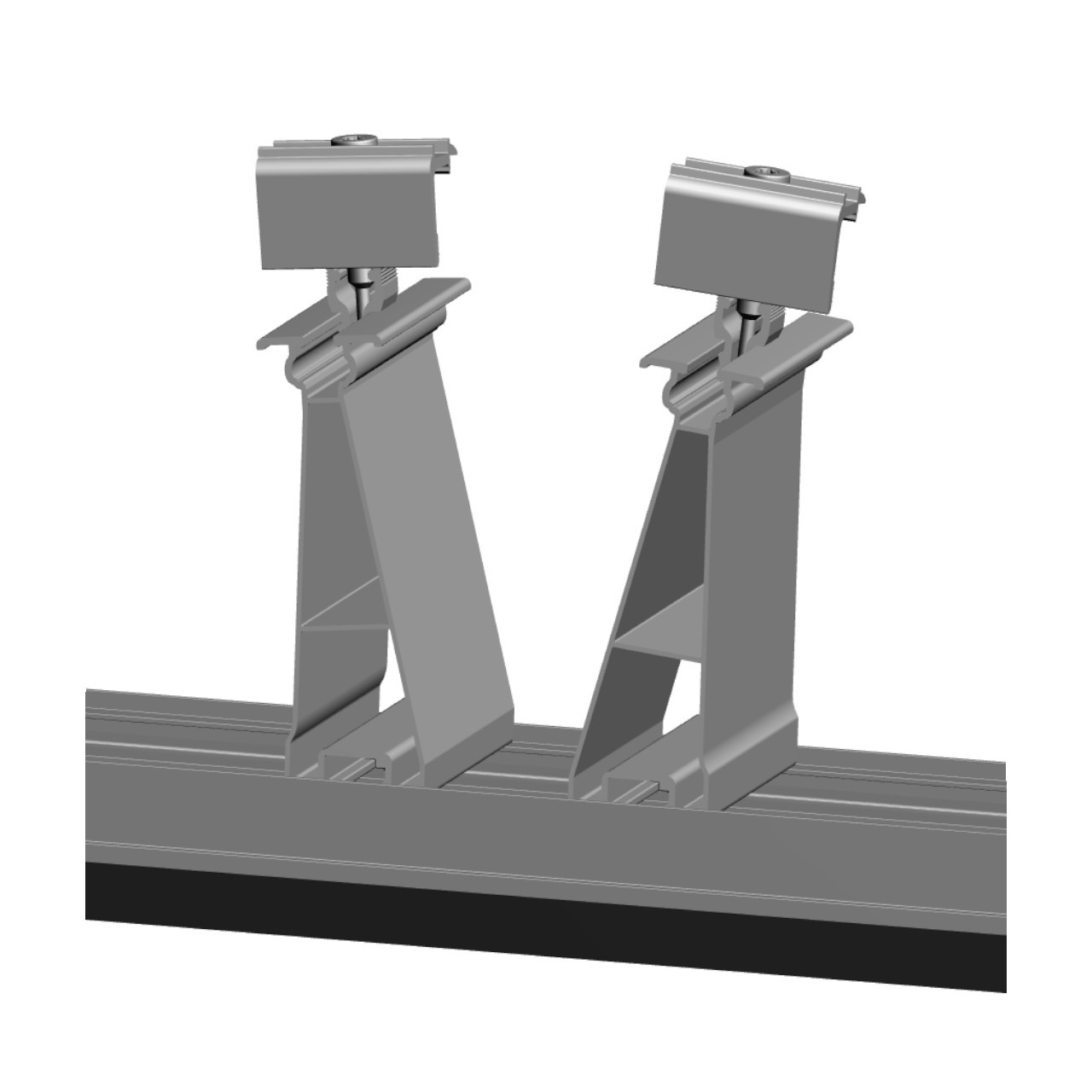 FixGrid5 - East-West - Rear Support