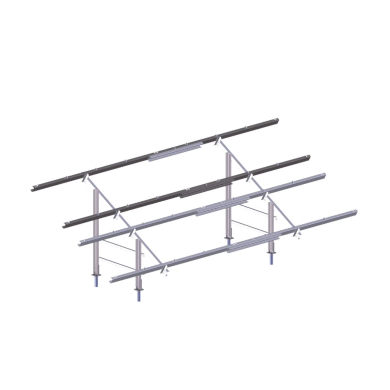 Polar Racking - PRU-D - No Panels