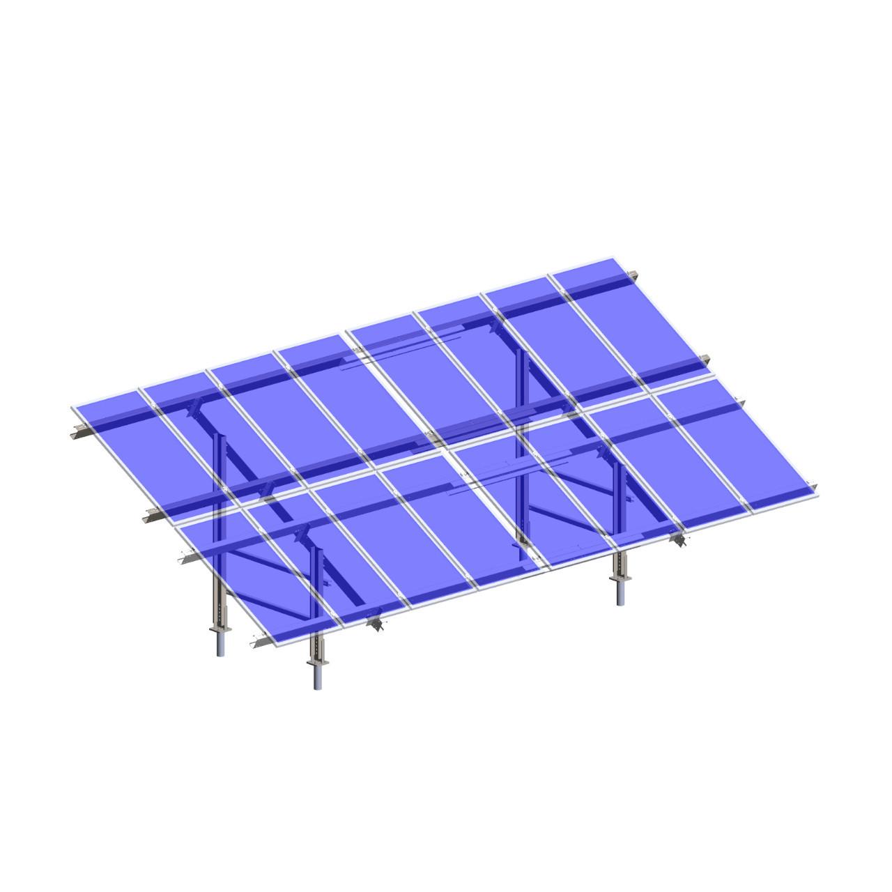 Polar Racking - PRU-D - Transparent Panels