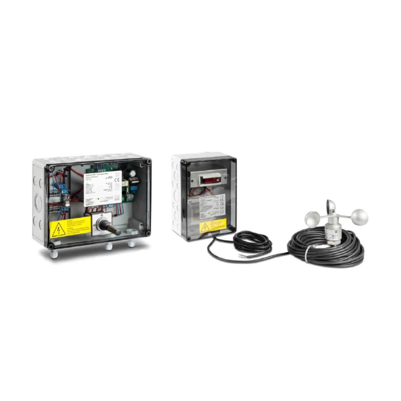 Deger - Central Control Box III w/ Windguard