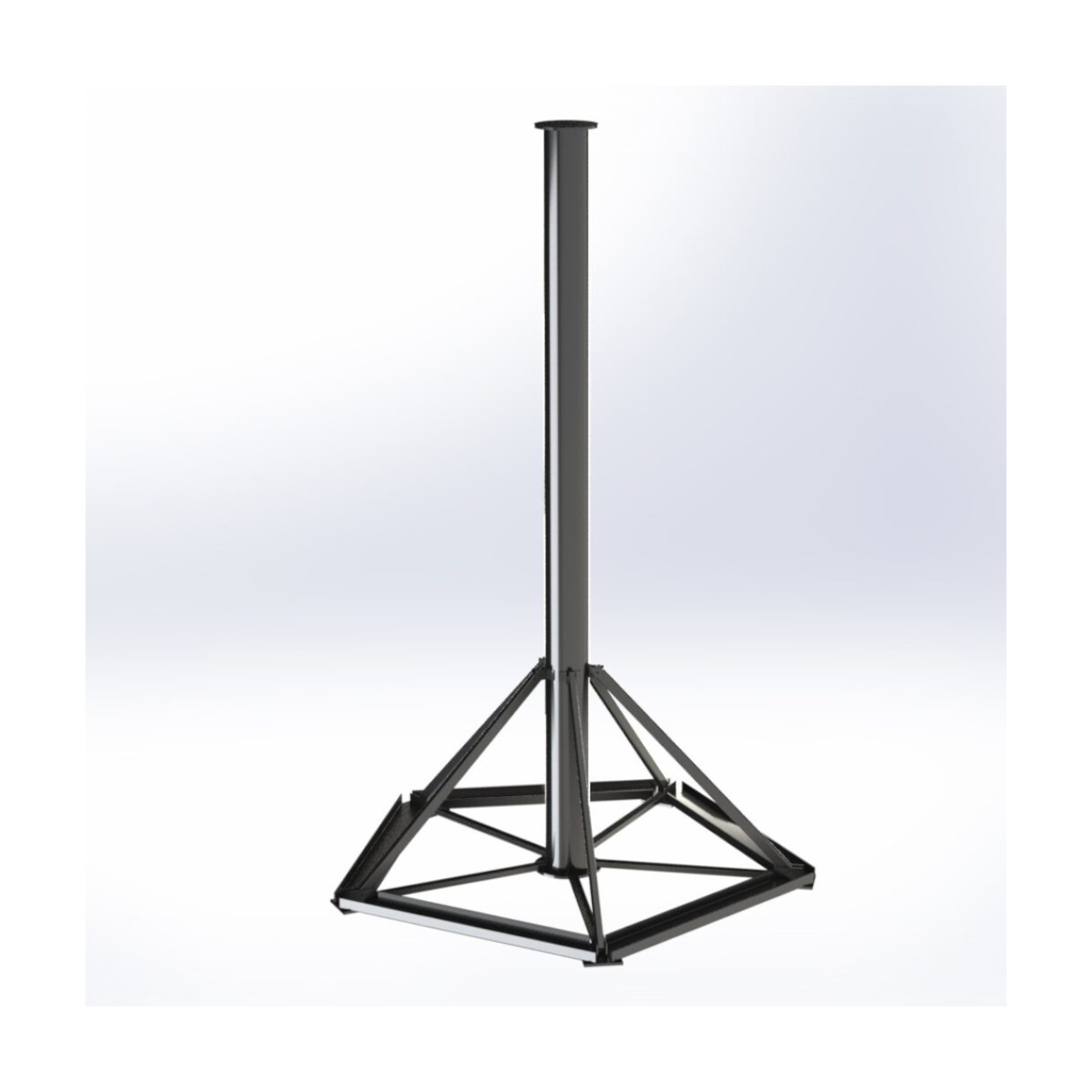 Deger - Steel Root Foundation - Mast