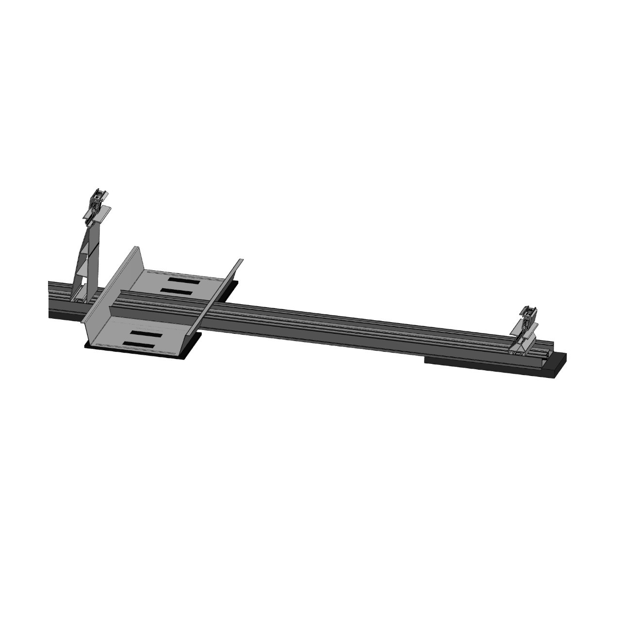 FixGrid10Plus - South - Front Rear Support Ballast