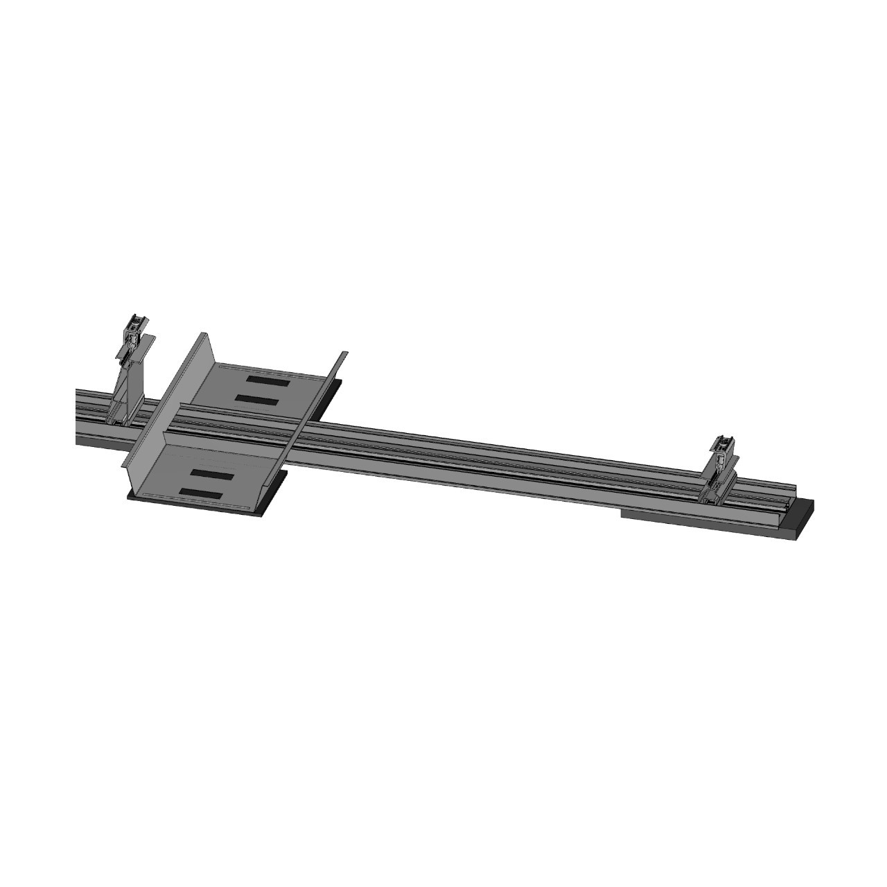 FixGrid5Plus - South - Front Rear Support Ballast