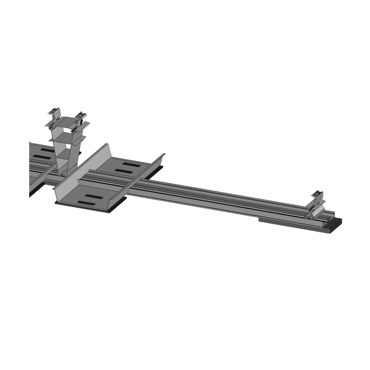 FixGrid10Plus - East-West - Front  Rear Support Ballast