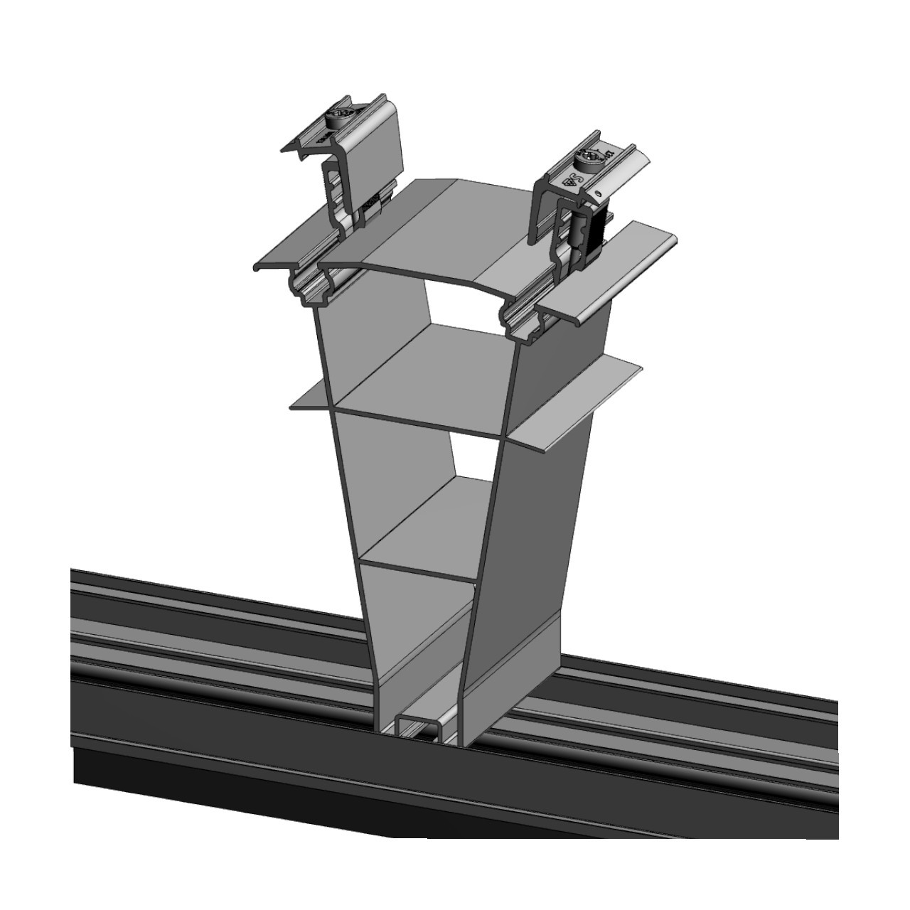 FixGrid10Plus - East-West - Rear Support