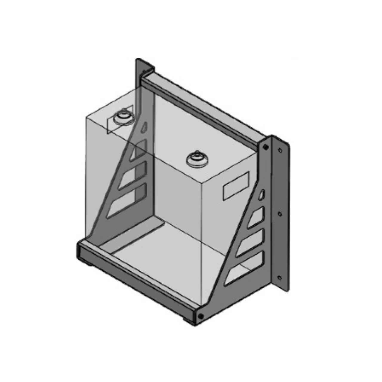 SimpliPhi - Wall Mount Bracket for PHI/AmpliPHI-3.8