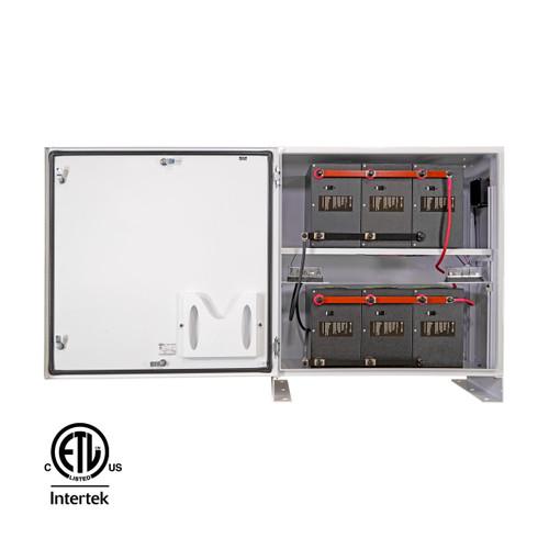 SimpliPhi - BOSS.6- Battery Cabinet - Door Open