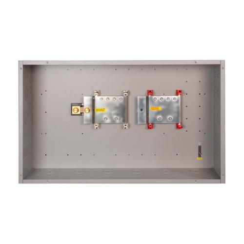 MidNite Solar - MNBCB 1000/50 DC Distribution Cabinet - Open