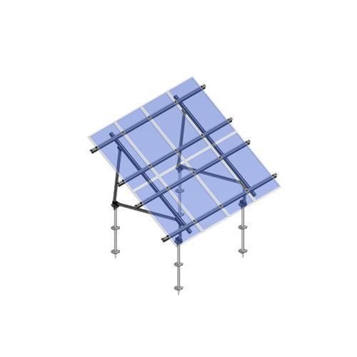 Schletter - PVMax 2Vx6-30deg-Screw-Transparent-Panels