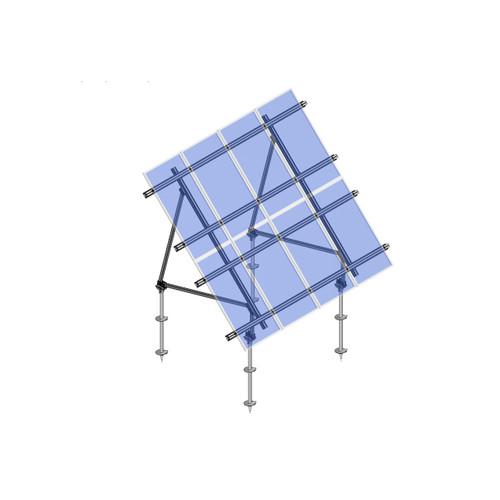 Schletter - PVMax 2Vx4-45deg-Screw-Transparent-Panels