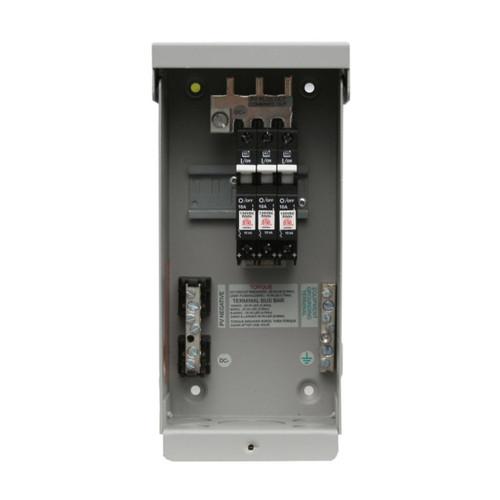 MidNite Solar - MNPV3 DC Combiner Box - Open Breakers