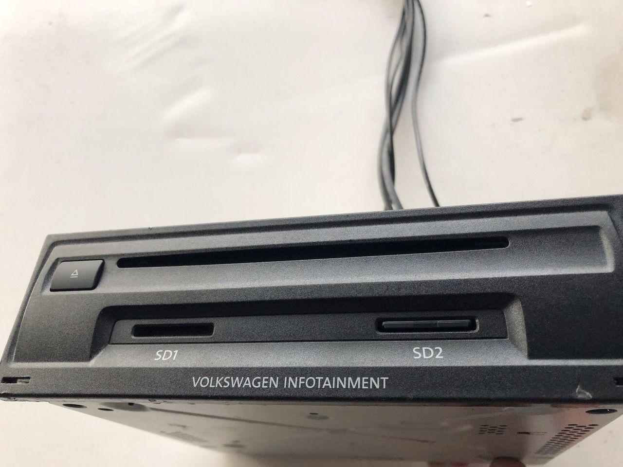VW GOLF 7 RADIO NAVIGATION SYSTEM DISCOVER MEDIA NAVI MIB2 3Q0035846