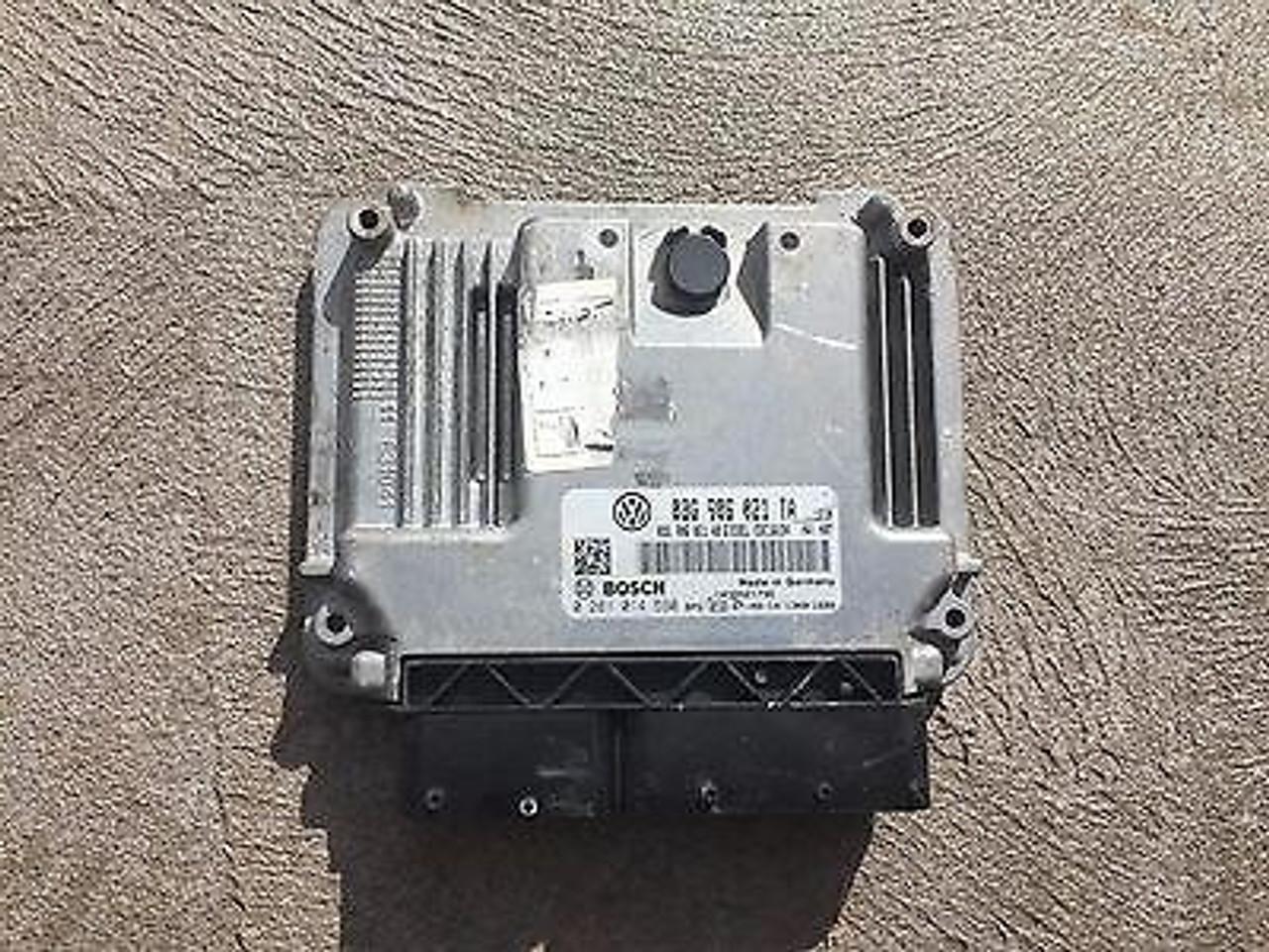 VW EOS 2L TDI BMM ENGINE CODE USED ENGINE ECU PART NUMBER 03G 906021 TA