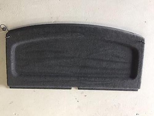 VW GOLF MK5 MK6 2005-2010 USED REAR PARCEL SHELF IN DARK GREY / BLACK COLOUR 1K6 867 769