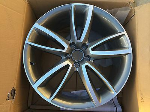 AUDI A5 S8 2008- NEW GENUINE SINGLE MAG WHEEL 20 INCH 8T0 071 490 4EE