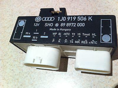 VW GOLF MK4 BORA BEETLE USED THERMO FAN RELAY 1JO 919 506 K