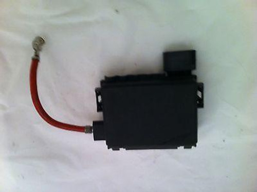 VW GOLF MK4 / BORA/ AUDI A3 USED FUSE BOX 5 TERMINAL TYPE ... Vw Golf Mk Battery Fuse Box on
