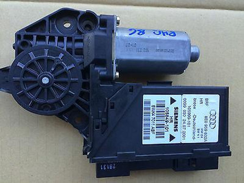 AUDI A4 B6 2001 - 2004 RHR WINDOW MOTOR USED