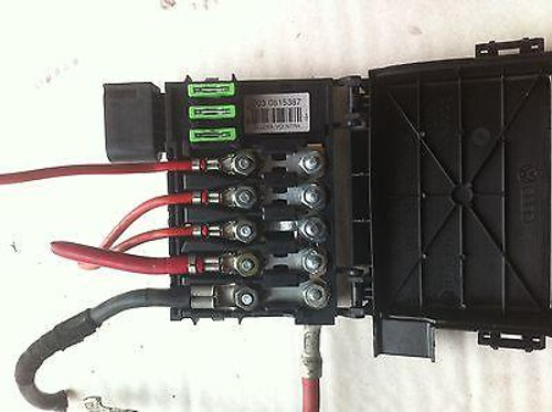 vw golf mk4 / bora/ audi a3 used fuse box 5 terminal type