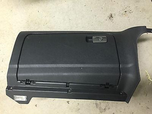 VW GOLF MK5 2004-2008 USED BLACK/DARK GREY GLOVE BOX