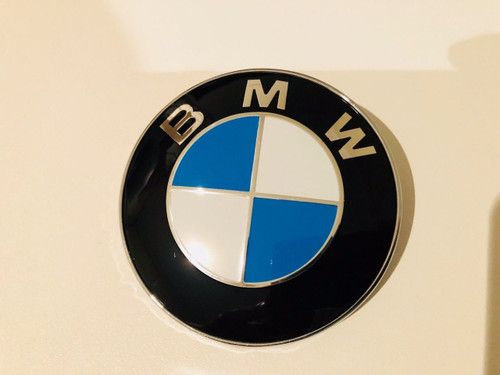 BMW BONNET BADGE NEW NON GENUINE 84MM PART NUMBER 51 14-8132375