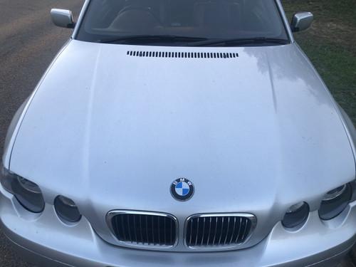 BMW E46 318TI 325 TI COMPACT 2001-2004 USED BONNET IN SILVER