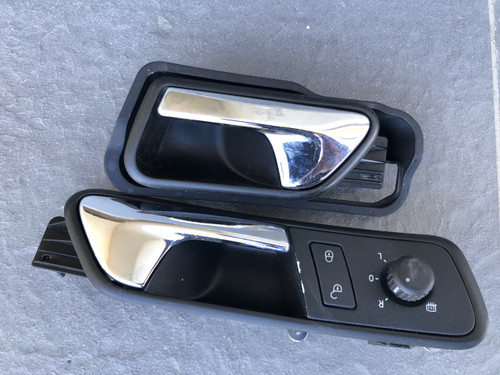 VW CADDY 2005-2014 LIFE USED INNER HANDLES WITH CENTRAL LOCKING / MIRROR SWITCH