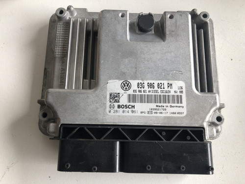 VW  GOLF MK5 1.9 TDI USED ENGINE COMPUTER BOX ECU 03G 906 021 PM