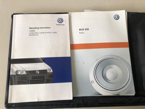 VW CADDY 1.6L  MANUAL USED LOG BOOKS