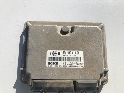 VW GOLF MK4 GTI USED ENGINE ECU 06A 906 018 CH